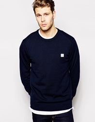 Bench Crew Neck Jumper Navy