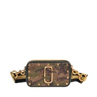 Marc Jacobs Snapshot Camo And Sequins Camera Bag