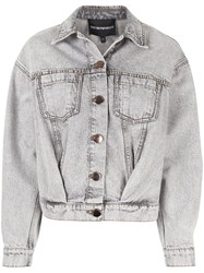 Emporio Armani Oversized Denim Jacket 60