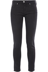 Iro Woman Jarod Low Rise Skinny Jeans Charcoal