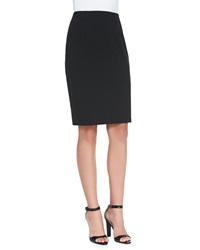 Eileen Fisher Ponte Jersey Pencil Skirt Black Women's