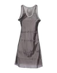 Alpha Short Dresses Grey