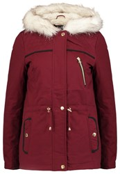 Dorothy Perkins Winter Jacket Red