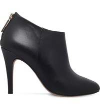 Kurt Geiger London Dahla Zipped Leather Boots Black