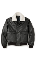 Patrik Ervell Aviator Leather Jacket