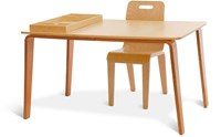 Iglooplay Craft Work Table Green Natural Red
