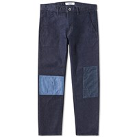 Fdmtl Cropped Patch Chino Blue