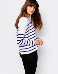 Lee Oversize Striped T Shirt Multi
