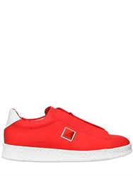 Giacomorelli Matte Leather Sneakers With Stud