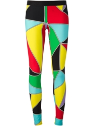 Fausto Puglisi 'Arlequin' Leggings Multicolour