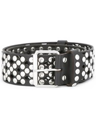 Faith Connexion Studded Allover Belt Black