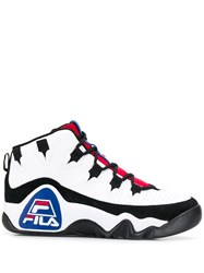 Fila Hi Top Sneakers White