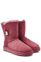 Ugg Australia Bailey Bling Boots With Swarovski Crystal Pink