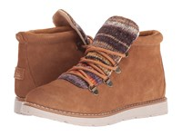 Skechers Bobs Alpine S'mores Chestnut Women's Lace Up Boots Brown
