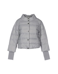 Fornarina Down Jackets Grey