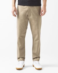 Obey Khaki Canvas Ludlow Chinos