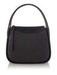 Label Lab Axel Leather Hobo Black