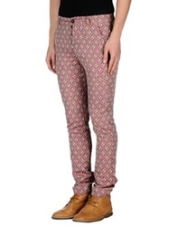 Monocrom Casual Pants Red