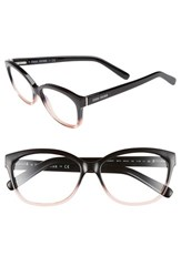 Bobbi Brown Women's 'The Mulbery' 54Mm Reading Glasses Black Pink Crystal Black Pink Crystal