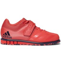 Adidas Powerlift 3.1 Mesh Trimmed Faux Leather Sneakers Red