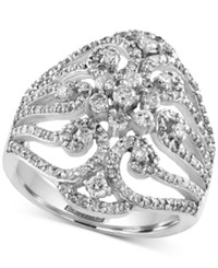 Macy's Effy Final Call Diamond Ring 1 1 10 Ct. T.W. In 14K White Gold