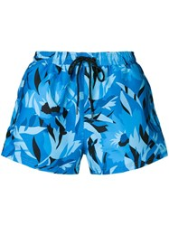 Hugo Boss Barreleye Swim Shorts Blue