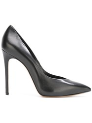 Casadei Pointed Toe Stiletto Pumps Black