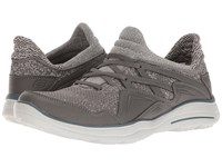 Skechers Relaxed Fit Glides Kenton Gray Knitted Mesh Men's Shoes
