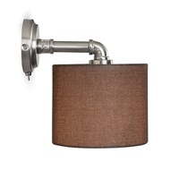 Garden Trading Hotel Wall Light Matt Nickel