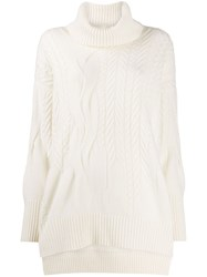 N.Peal Cashmere Cable Knit Jumper 60