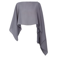 Damsel In A Dress Gabriella Shawl Grey