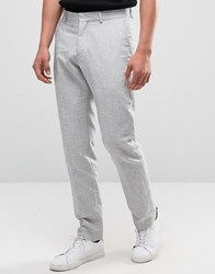 Selected Linen Trousers Grey