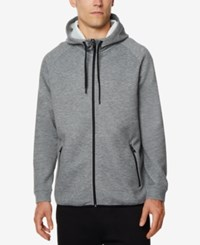 32 Degrees Men's Performance Hooded Sweatshirt Heather Storm