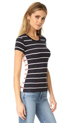 Bailey 44 Breakwater Tee Navy Cream