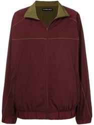 Y Project Oversized Parka Jacket Red