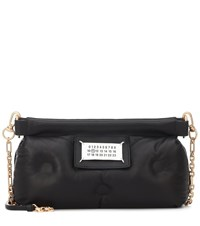 Maison Martin Margiela Glam Slam Quilted Leather Clutch Black