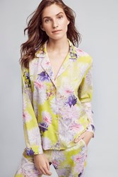 Eloise Elderflower Pyjama Shirt Pink