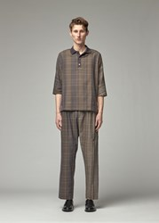 Stephan Schneider 'S Sandpit Polo Top In Check Size Iii 100 Cotton