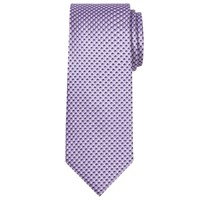 Chester Barrie By Geometric Silk Tie Lilac