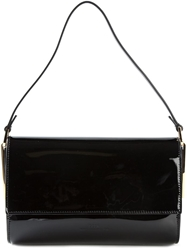 Desa 1972 Gold Toned Hardware Shoulder Bag Black