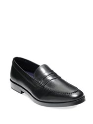 Cole Haan Dress Revolution Hamilton Grand Leather Penny Loafers Black
