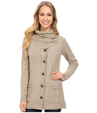 Royal Robbins Three Season Cardi Khaki Women's Sweater