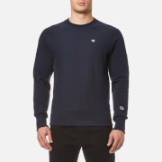 Champion Men's Crew Neck Sweatshirt Navy Blue