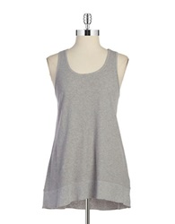 Calvin Klein Cotton Performance Tank Pearl Heather