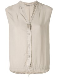 Transit Sleeveless Blouse Nude And Neutrals