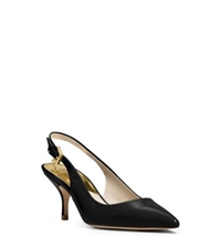Michael Kors Kelsey Patent Leather Sling Back Pump Black
