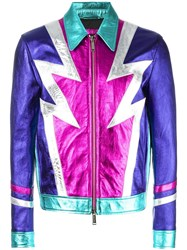 Dsquared2 Glam Rock Bomber Jacket
