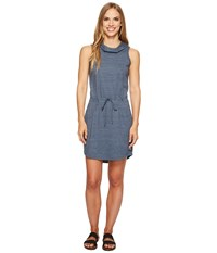 The North Face Tri Blend Dress Ink Blue Heather Gray