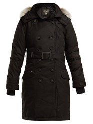 Nobis Tula Double Breasted Down Coat Black