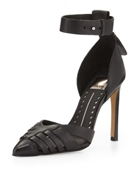 Dolce Vita Kaiza Leather D'orsay Pump Black